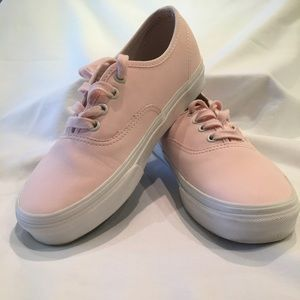 Vans Soft Pink Shoes